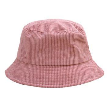 Bøllehat i rosa fløjl