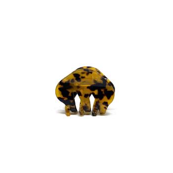 Lille Hårklemme Saga i Leopard - By Stær