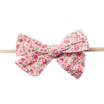 Gry Hårbånd med pink blomster