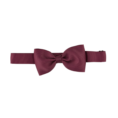 Butterfly grosgrain bordeaux