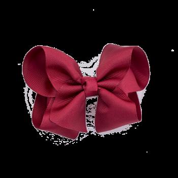 Sløjfe 10 cm i red scarlet