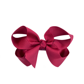 Sløjfe 8 cm red scarlet