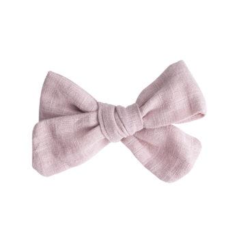 Elvira sløjfespænde - dusty rosa