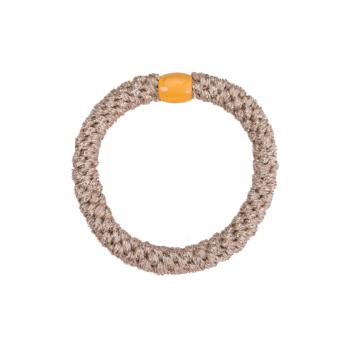 produktbillede af glitter beige metallic hairtie