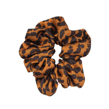 Scrunchie Leopard Orange