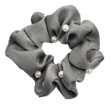 Scrunchie Pearl Grey