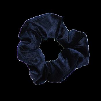 Scrunchie Velvet navy