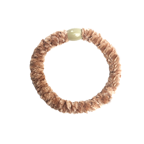 Braided Hairtie - Velvet Beige