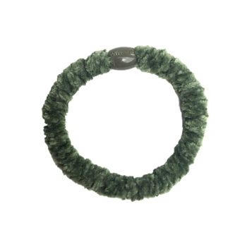 Velvet Moss Braided Hairtie