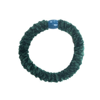 Braided Hairtie - Velvet Petroleum