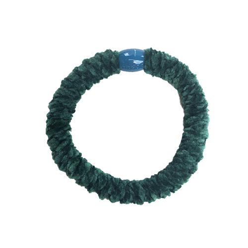Braided Hairtie - Velvet Petroleum
