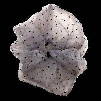 Stor grå scrucnhie med prikker