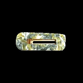 grønt meleret hårspænde
