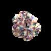 Scrunchie med sommerblomster