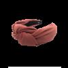Tilde hårbøjle med stor knude i berry