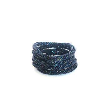 Napal armbånd i mørkeblå