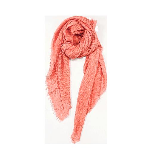 Nola Tørklæde i ferskenfarvet
