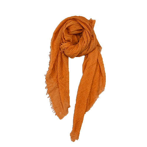 Nola Tørklæde i okker