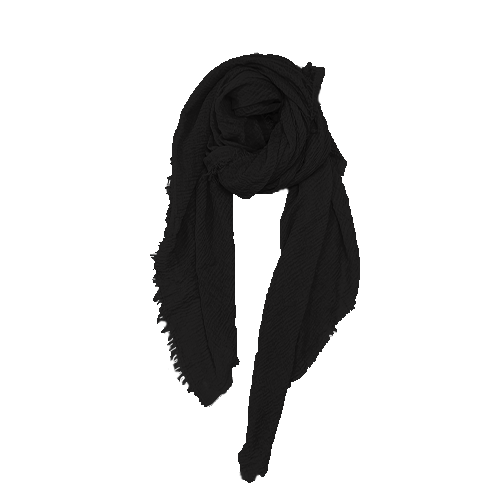 Nola Tørklæde i sort