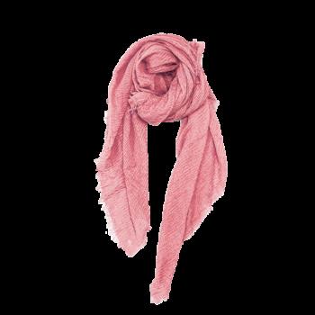 Nola Tørklæde i støvet rosa