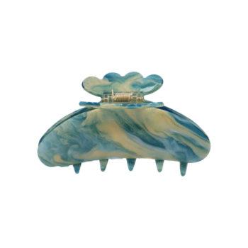 Produktbillede af Asta hårklemme i blue galaxy med glimmer