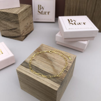 Produktbillede af Anette armbånd i 18k guld belægning