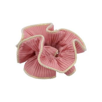 produktbillede af lilje Scrunchie i farven antique rose på en hvid baggrund