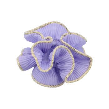 produktbillede af lilje scrunchie i pastel lilla
