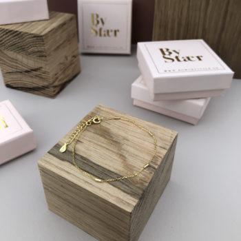 Produktbillede af Lisa Armbånd i 18k guld belægning