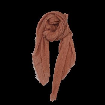 Nola Tørklæde - Gyldenbrun