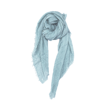 Nola tørklæde i lyseblå