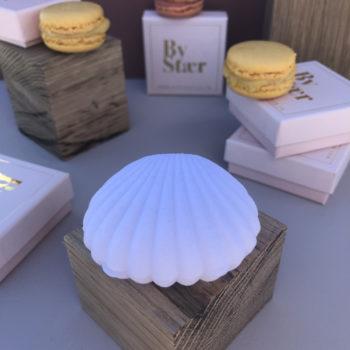 produktbillede af shell box smykkeæske i hvid
