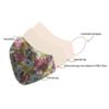 Stofmundbind med blomsterprint
