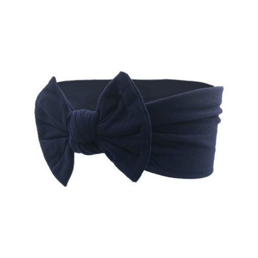 Astrid hårbånd i navy