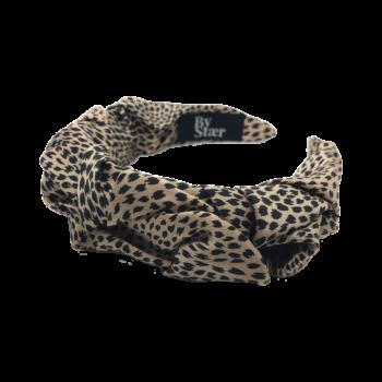 Produktbillede af belle hårbøjle i leopard
