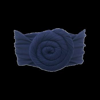 Kristina hårbånd med i navy blå
