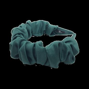 produktbillede af sigga creppet hårbånd i irgrøn