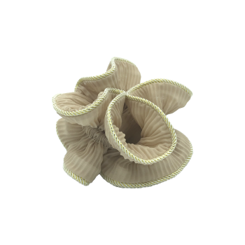 lilje scrunchie i beige