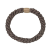 Produktbillede af braided hairtie i earth brown