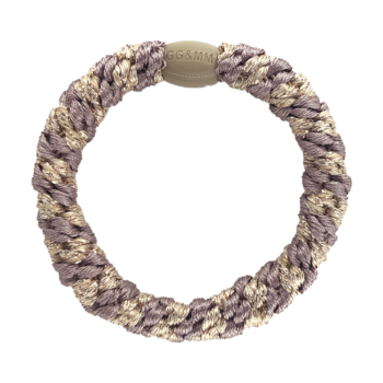 hairtie i dusty purple med perle