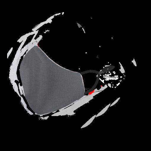 Stofmundbind i grå
