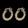 Juliane øreringe i 18k guld