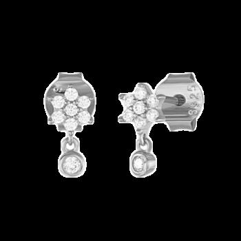 lærke sølv øreringe