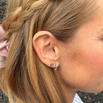 Helene ørering sølv