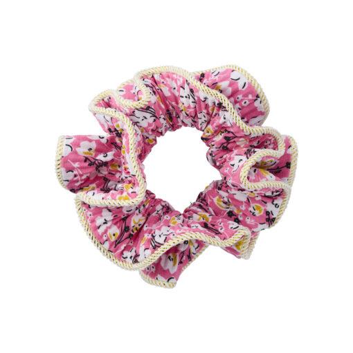 Lilje Scrunchie - Blomstermix 24