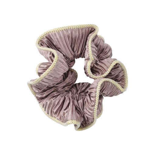 Lilje Scrunchie - Satin Antique Rose