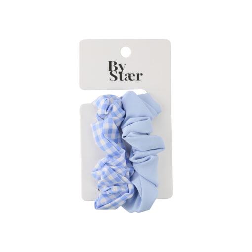 Ibi Scrunchie – 2-pak – Blå Mix