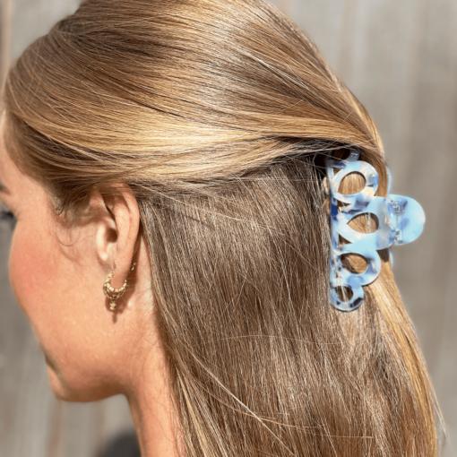 alice-hårklemme-blå