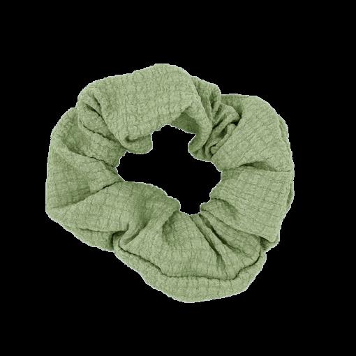 Wilma Scrunchie - Støvet Grøn