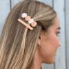 nicole hårclips-lyserød